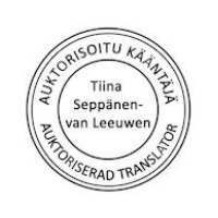 Auktorisoitu Kääntajä Suomi Hollanti Englanti
